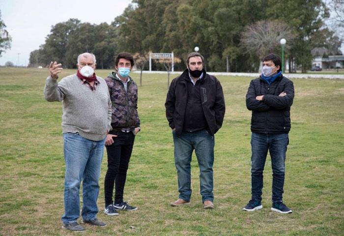 Acerbo anunció un playón deportivo para Arboledas
