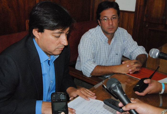 Acerbo presentó el plan de obra municipal