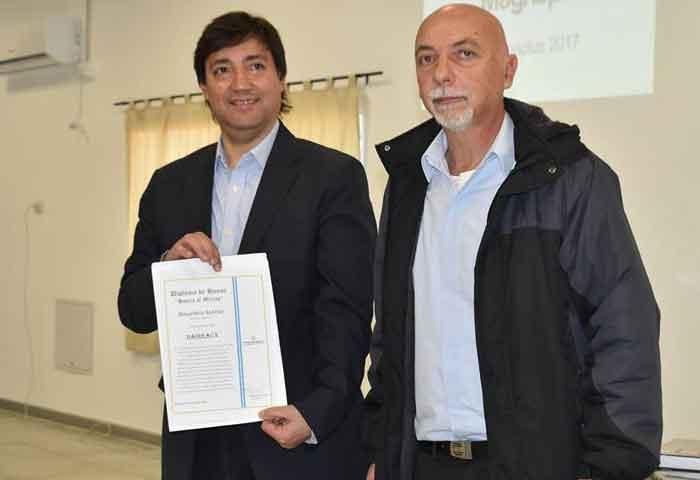 Acerbo presentó el portal educativo municipal