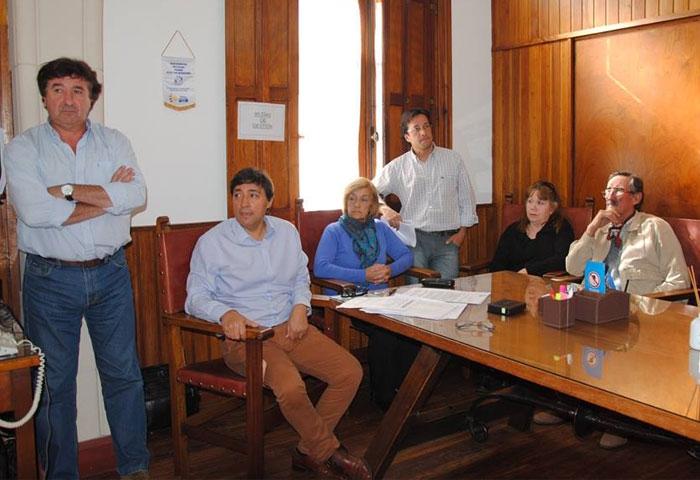 Acerbo se reunió con beneficiarios de viviendas