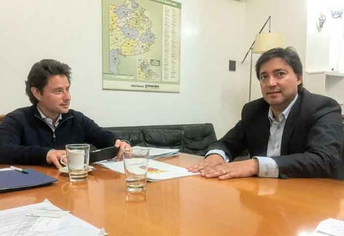 Acerbo se reunió con el ministro Sánchez Zinny