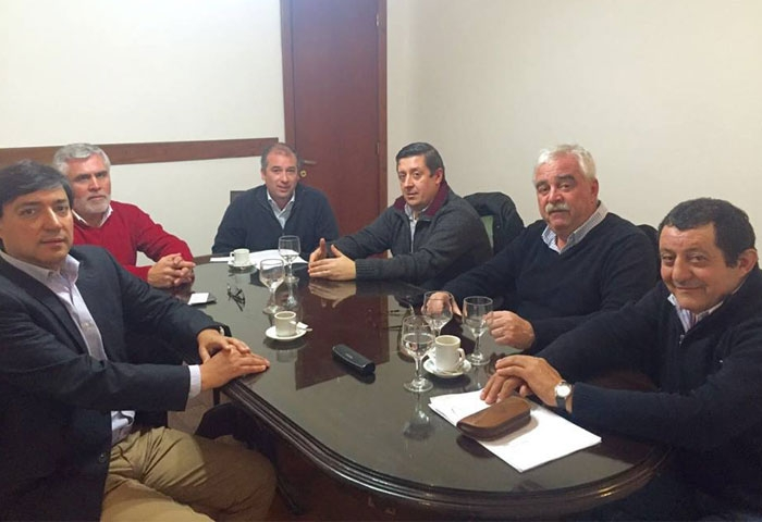 Acerbo se reunió en el Ministerio de Seguridad