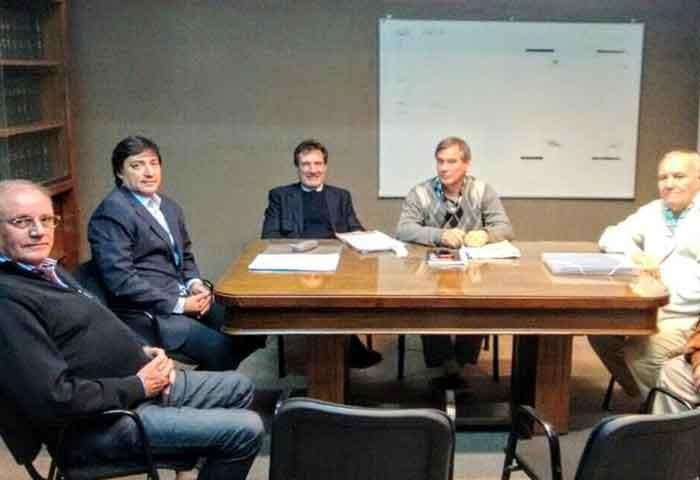 Acerbo se reunió en la Dirección de Energía