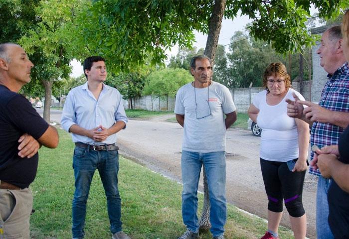 Aguilera presentará proyectos para las localidades