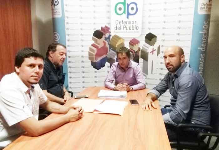 Aguilera y Bajamón se reunieron con Lorenzino