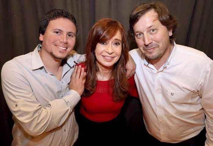 Aguilera y Santellán estuvieron con Cristina