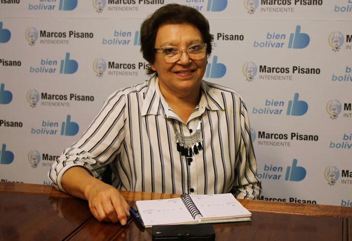 Ana María Natiello será intendenta por 15 días