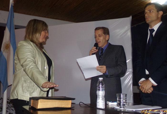 Andrea Prieto, del Hospital al Concejo
