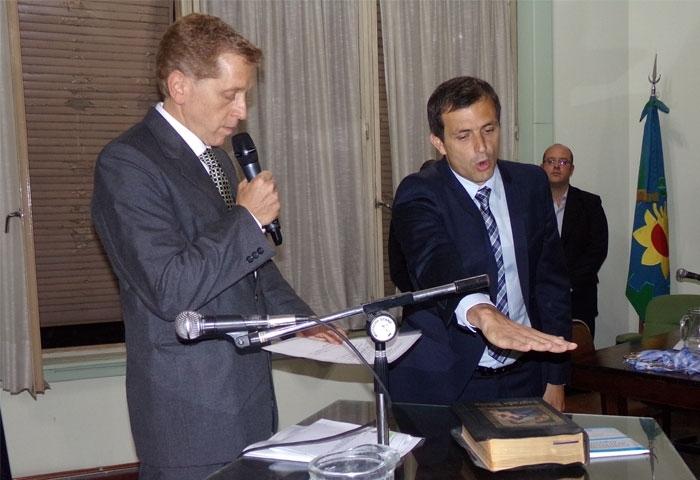 Bali Bucca jura como diputado nacional