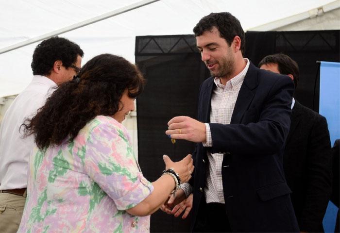 Basavilbaso entregó viviendas de Procrear en Mendoza