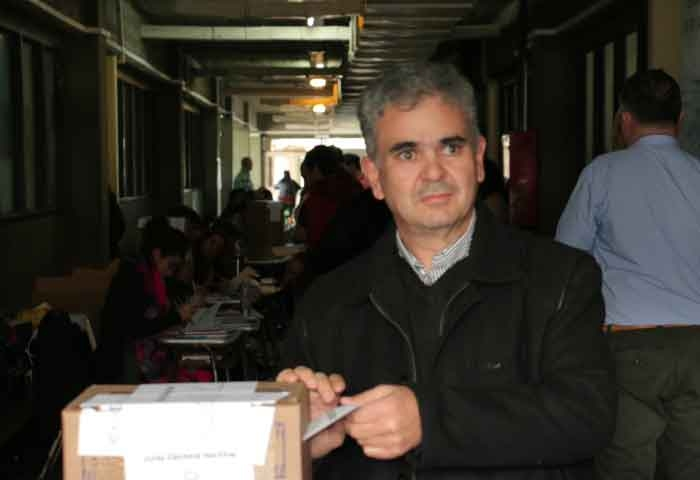Berreterreix votó en el ex Nacional