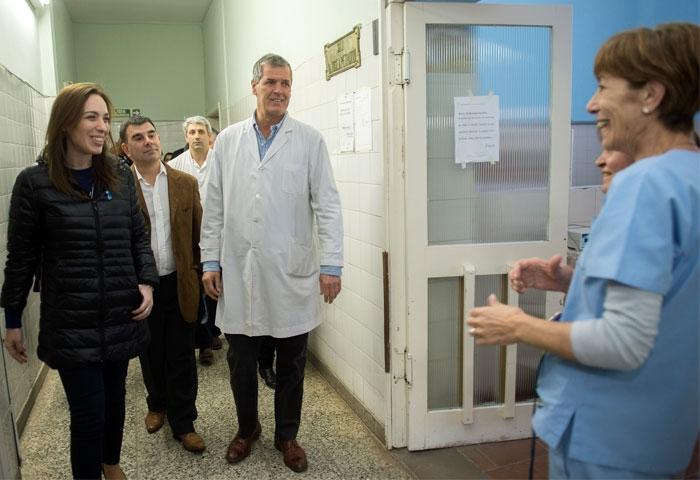 Bertellys recibió a la gobernadora Vidal