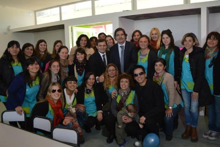 Bucca inauguró el nuevo Jardín Maternal
