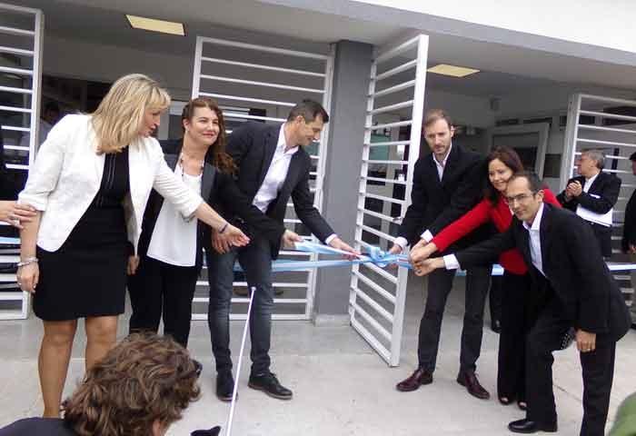 Bucca inauguró la nueva sede del CRUB