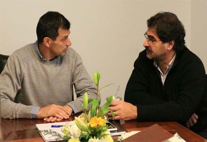 Bucca recibió al ministro Sarquís