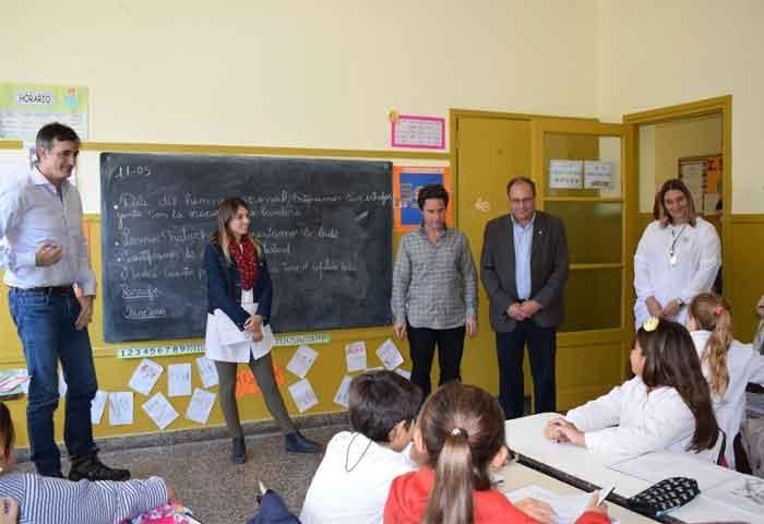 Bullrich y Sánchez Zinny visitaron a Capra
