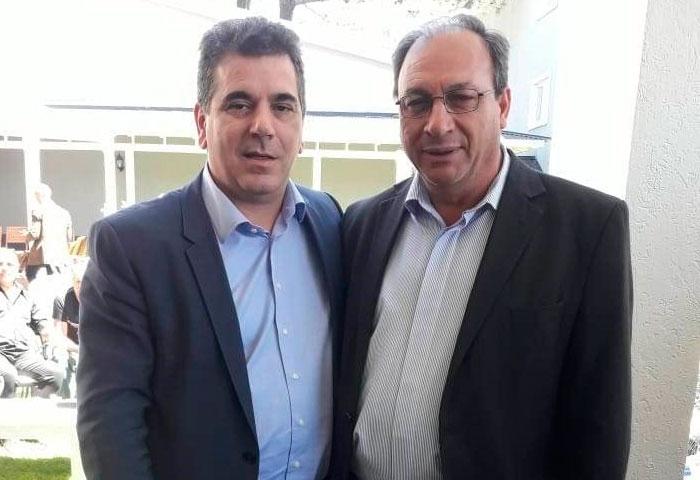 Capra estuvo con Ritondo en Cariló