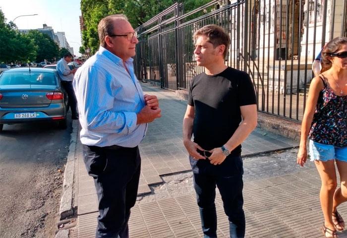 Capra se reunió con el gobernador Kicillof