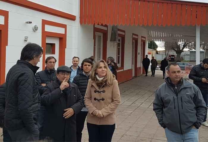 Cellillo caminó junto a Bullrich y González