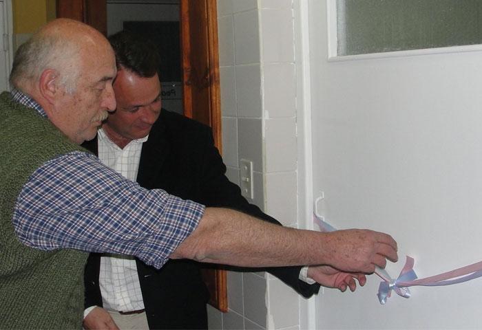 Cellillo inauguró el nuevo sector de neonatología