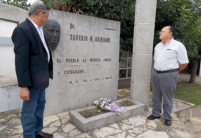 Cortés encabezó los actos del 56º aniversario