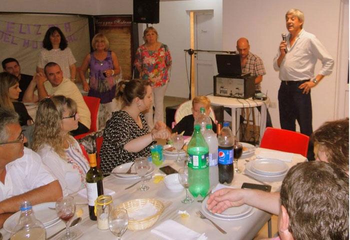 Cortés participó de la cena del Día del Municipal