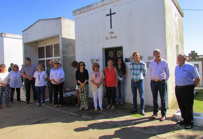 Cortés participó de los actos del aniversario