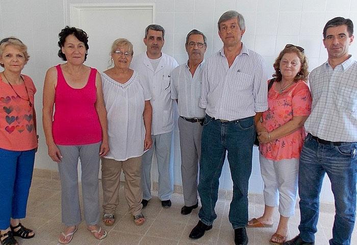 Cortés se reunió con la Cooperadora del Hospital