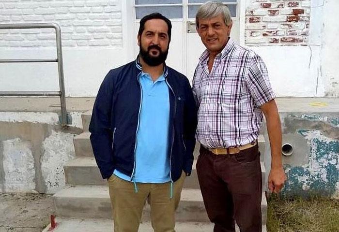 Cortés visitó la fábrica de mozzarella