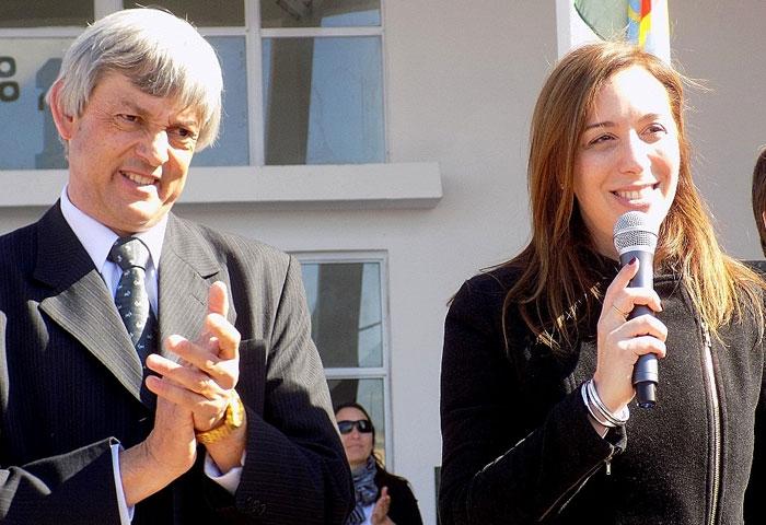 Cortés y Vidal inauguraron la Escuela Técnica