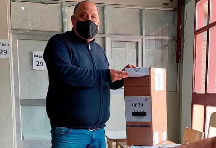 Diego Freyre votó en la ENET