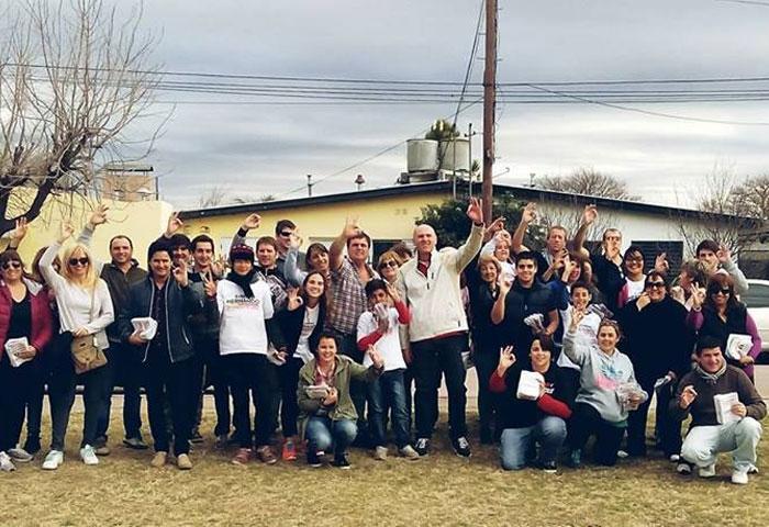 El equipo de Hernando recorre los barrios