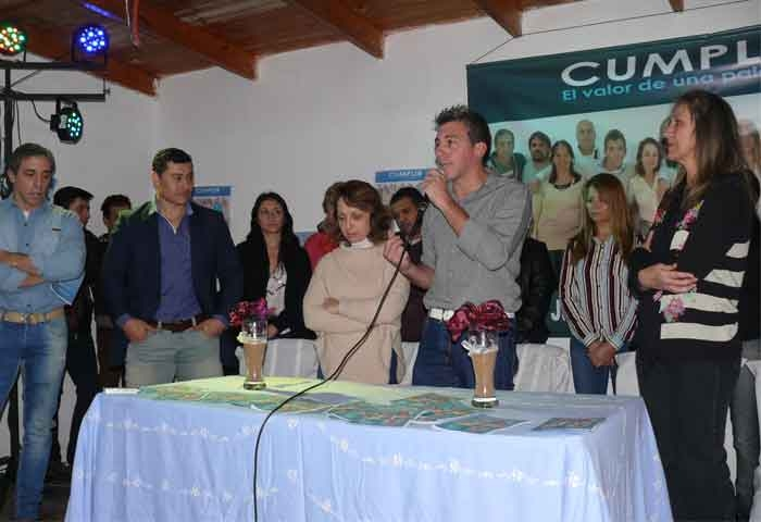 El Melli Díaz presentó oficialmente su lista