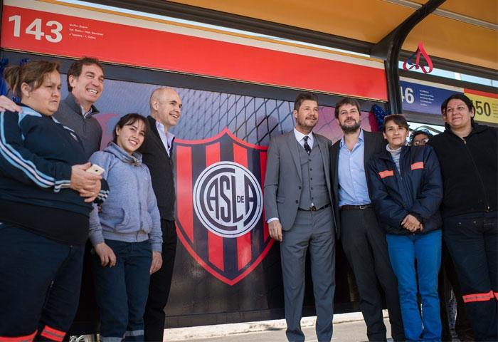 El Metrobus Sur ya tiene su estación San Lorenzo