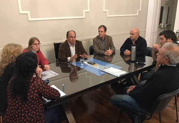 Erreca se reunió con el intendente de Saladillo