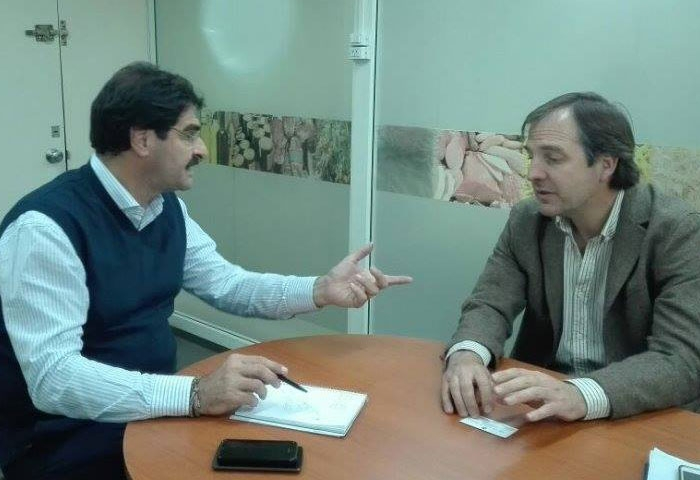 Erreca se reunió con el ministro Sarquís