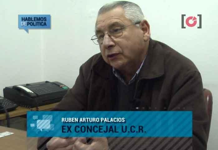 Falleció el ex concejal Rubén Arturo Palacios