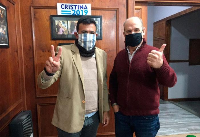 Ferreyra visitó a Pablo Zurro