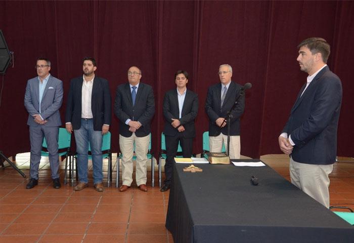 Galli les tomó juramento a sus nuevos Secretarios