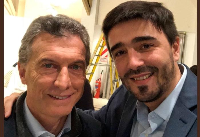 Galli participó de una reunión con Macri en Olivos