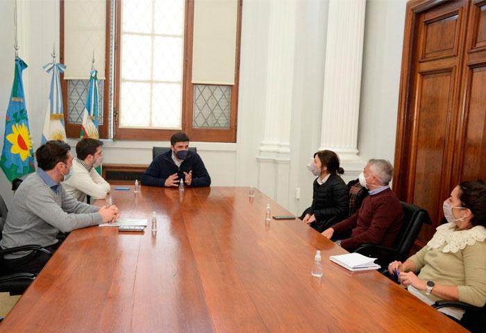 Galli se reunió con el CEO de Loma Negra