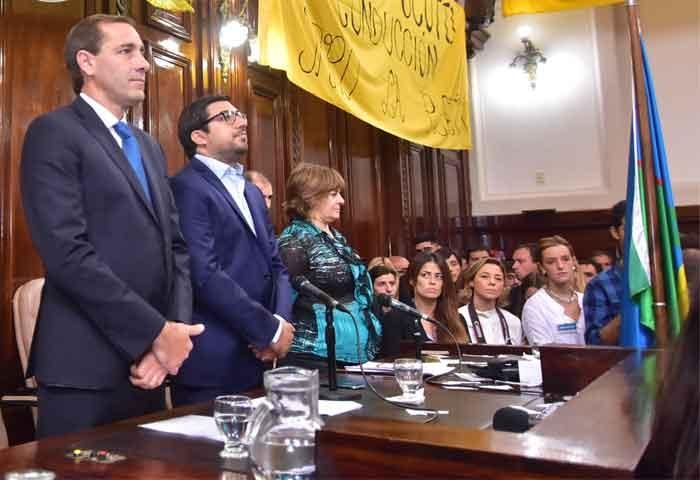 Garro inauguró el período de sesiones del HCD