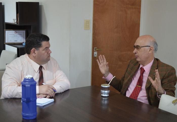 Gorosito se reunió con el intendente de Berisso