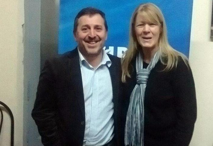 Hugo González se reunió con Stolbizer en Azul