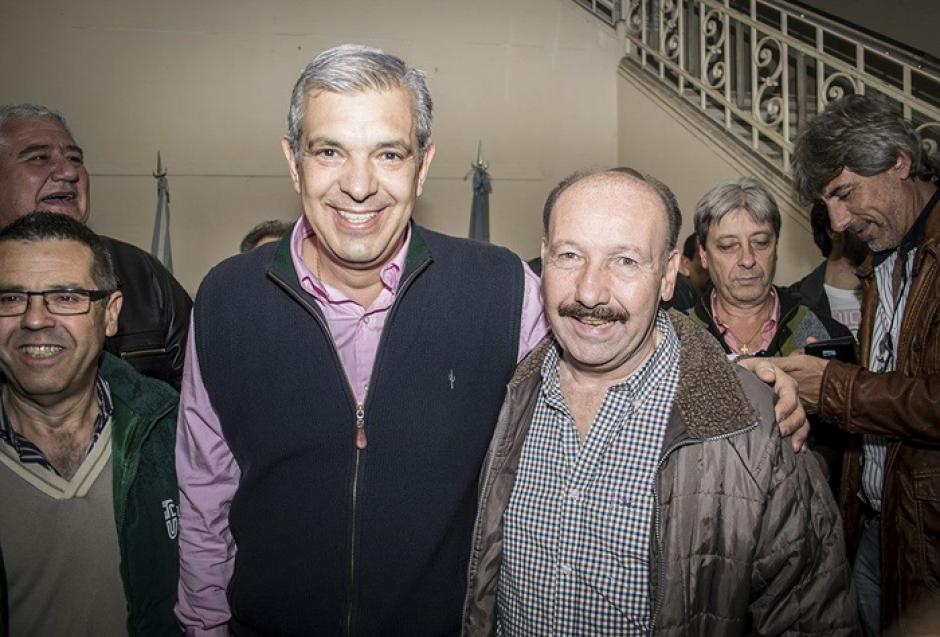 Inza estuvo con Domínguez en Chacabuco