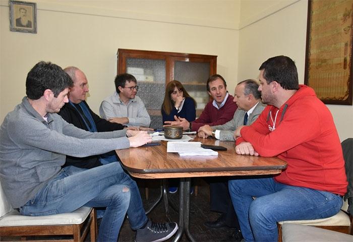 José Gabriel Erreca colabora con la emergencia
