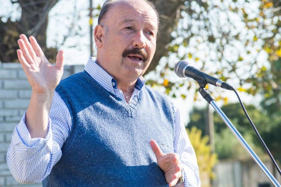 José Inza va por la reelección en Azul