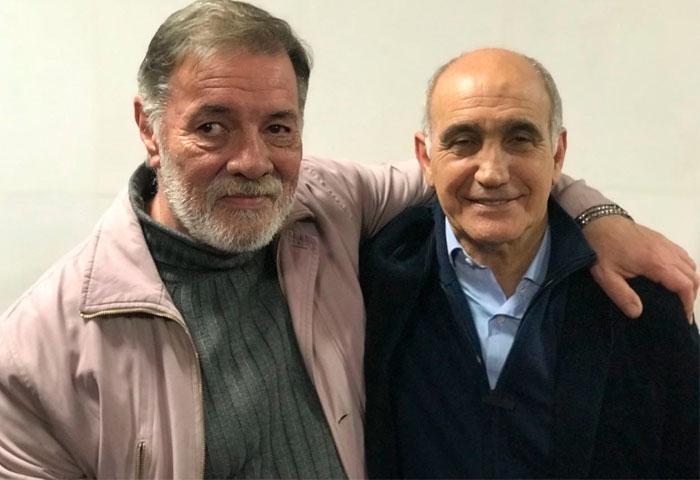 Julio Ruiz se reunió con el vicegobernador
