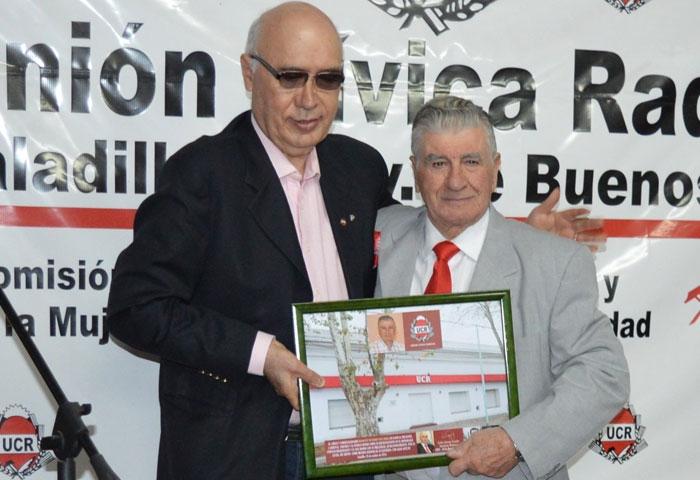 La UCR homenajeó a Rodolfo Vaccarini