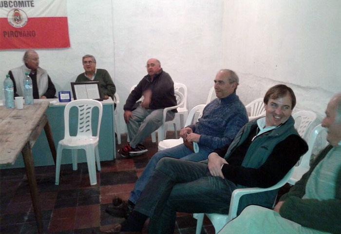 Los concejales radicales visitaron Pirovano